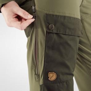 FjallRaven Keb Trousers W Short Deep Forest-Laurel Green-20