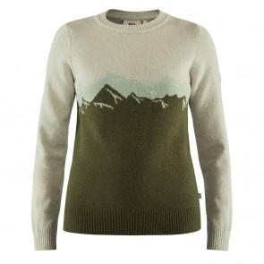 FjallRaven Greenland Re-Wool View Sweater W Laurel Green-20