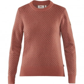 FjallRaven Övik Nordic Sweater W Terracotta Pink-20