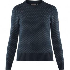 FjallRaven Övik Nordic Sweater W Dark Navy-20