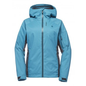 Black Diamond W Boundary Line Insulated Jacket Aqua Verde-Anthracite-20