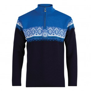 Dale of Norway Moritz Masc Sweater S navy / sochi blue / cobalt / off white-20