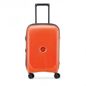 Delsey Belmont Plus 4 Double Wheels Expandable Cabin Trolley 55 CM Orange-20