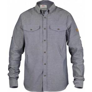 FjallRaven Övik Chambray Shirt Navy-20