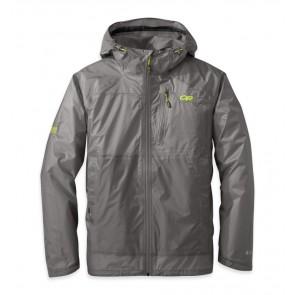 Outdoor Research Men's Helium HD Jacket pewter/lemongrass-20
