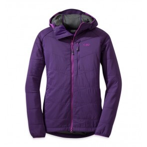 Outdoor Research Women's Uberlayer Hooded Jacket Elderberry-20