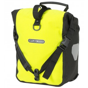 Ortlieb Front-Roller High Visibility neon yellow black reflex-20