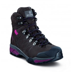 Scarpa ZG Pro GTX wmn dark coffee/red plum-20