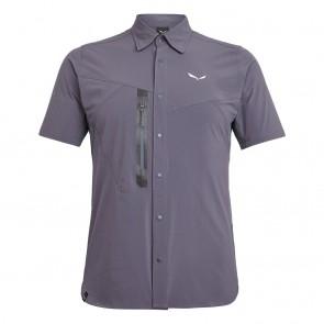 Salewa Puez Hybrid Dst M S/S Shirt 46/S Ombre Blue Melange-20