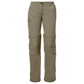 VAUDE Women's Farley ZO Pants IV muddy-20