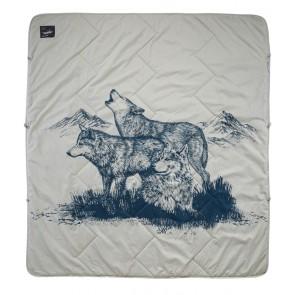 Therm-A-Rest Argo Blanket 198 x 182 cm Wolf Print-20