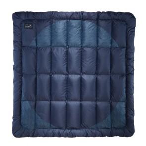 Therm-A-Rest Ramble Down Blanket 224 x 224 cm Eclipse Blue-20