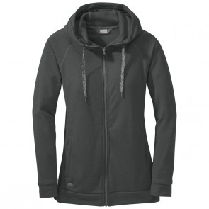 Outdoor Research OR Women's Ozette Full Zip Hoody charcoal-20