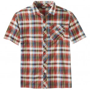 Outdoor Research OR Men's Pale Ale S/S Shirt washed peacock large plaid-20