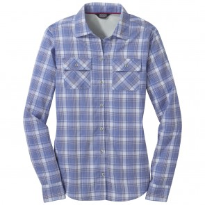 Outdoor Research OR Women's Passage L/S Shirt hydrangea plaid-20