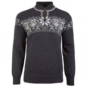 Dale of Norway Geiranger Masc Sweater XXL Dark charcoal / smoke / Light charcoal / Off white-20