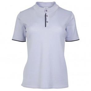 Dale of Norway Fredrikke feminine T-shirt Ice blue / navy /off white mel.-20