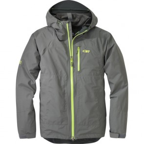 Outdoor Research Men´s Foray Jacket Pewter/Lemongrass-20