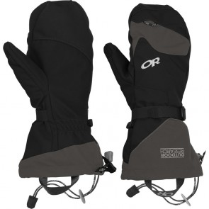 Outdoor Research Meteor Mitts 189-BLACK/CHARCOAL-20