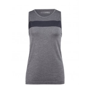 Icebreaker Wmns Motion Seamless Tank Panther HTHR-20