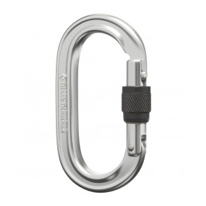 Black Diamond Oval Locker Carabiner Polished-20