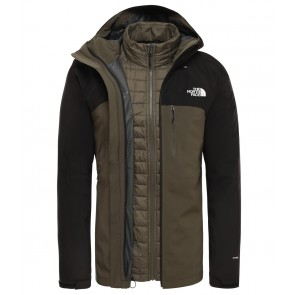 The North Face Men's Thermoball Zip-In Triclimate Jacket NEW TAUPE GREEN/TNF BLACK-20