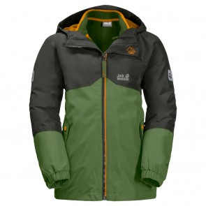 Jack Wolfskin B Iceland 3In1 Jkt antique green-20