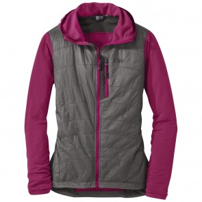 Outdoor Research OR Women's Deviator Hoody sangria/pewter-20
