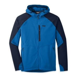 Outdoor Research OR Men's Ferrosi Hooded Jacket glacier/night-20