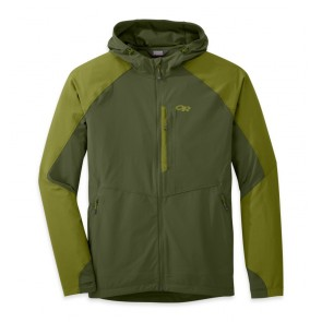 Outdoor Research OR Men's Ferrosi Hooded Jacket kale/hops-20