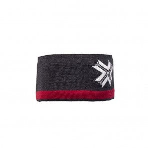 Dale of Norway Åre headband Dark charcoal/ off white/ raspberry-20