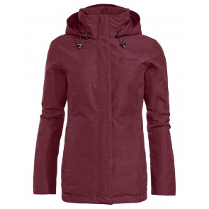 VAUDE Women's Limford Jacket II claret red-20