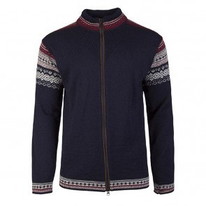 Dale of Norway Bergen masc. Navy / Light charcoal / Red rose-20