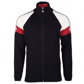 Dale of Norway Geilo Masc Jacket Black/ off white/ raspberry-20