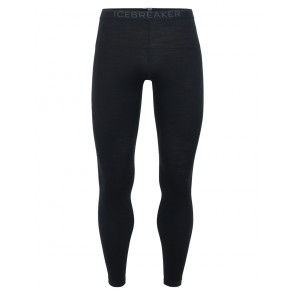 Icebreaker Mens 200 Oasis Leggings Black-20