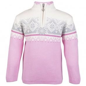 Dale of Norway Moritz Kids Sweater Pink candy/ off white/ Fuchsiara/ grey-20