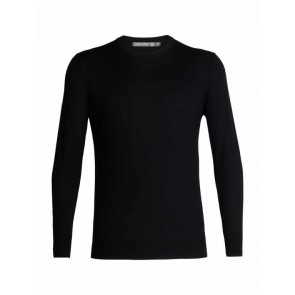 Icebreaker Mens Shearer Crewe Sweater Black-20