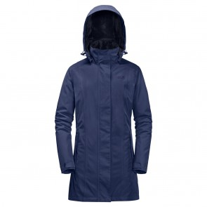 Jack Wolfskin Madison Avenue Coat lapiz blue-20