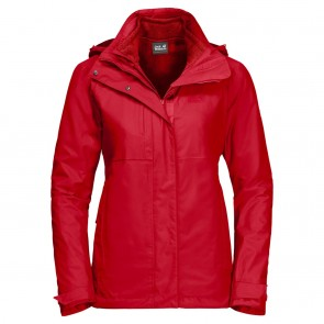 Jack Wolfskin Echo Pass Women red fire-20
