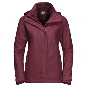 Jack Wolfskin Echo Pass Women fall red-20