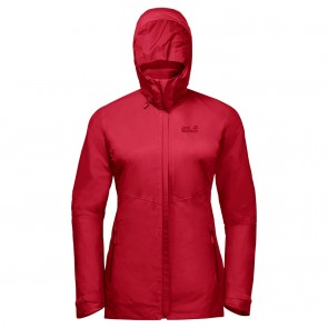 Jack Wolfskin Garnet Pass 3In1 W red fire-20