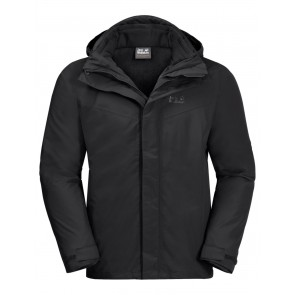 Jack Wolfskin Three Peaks Jacket M black-20