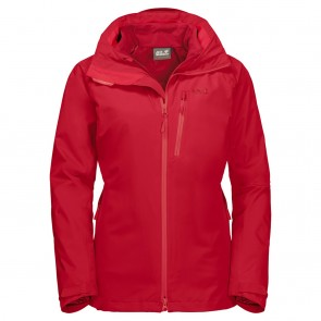Jack Wolfskin Ice Ridge 3In1 W red fire-20