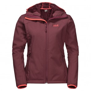 Jack Wolfskin Rock Valley Jacket W fall red-20