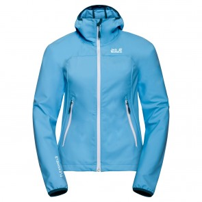 Jack Wolfskin Eagle Peak Softshell W misty blue-20