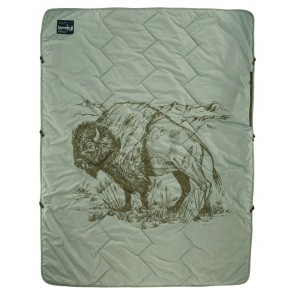 Therm-A-Rest Stellar Blanket Bison Print-20