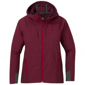 Outdoor Research Women's San Juan Jacket garnet/zin-20