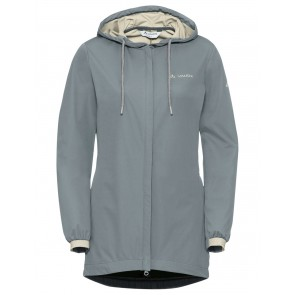 VAUDE Women's Cyclist Softshell Jacket pewter grey-20