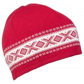 Dale of Norway Cortina Merino hat Raspberry / Off white-20