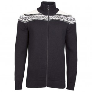 Dale of Norway Cortina merino masculine jacke Black / off white-20